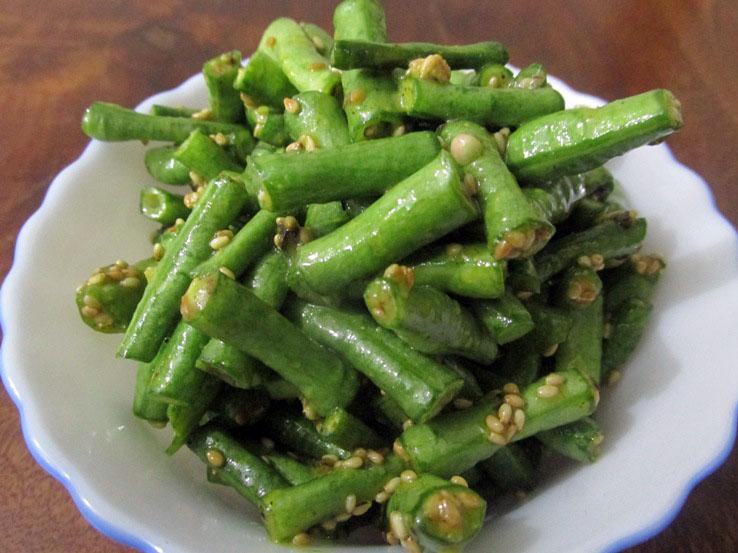 long beans salad