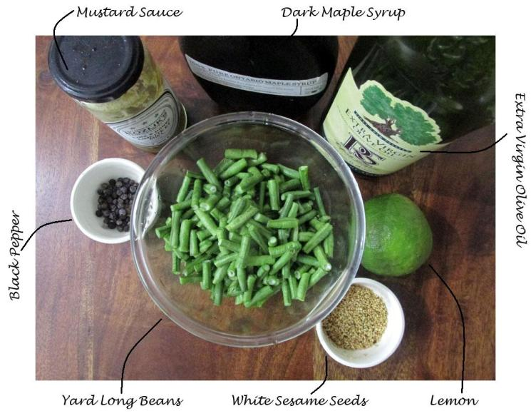 long bean salad ingredients