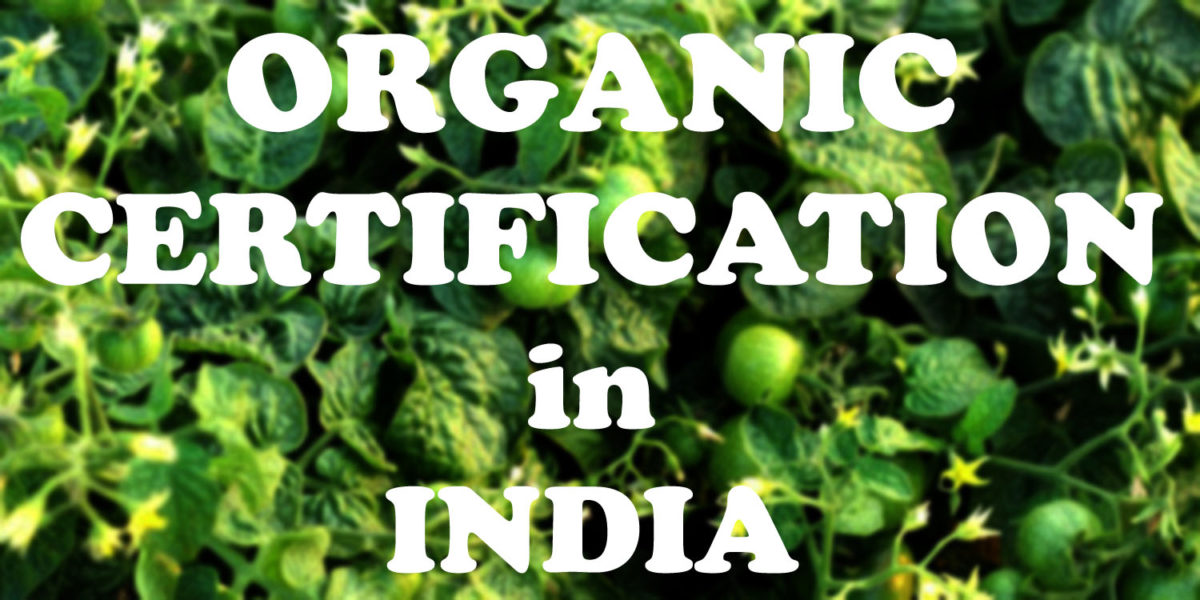 organic certification in India