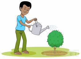Popular clip art of a Happy Gardener