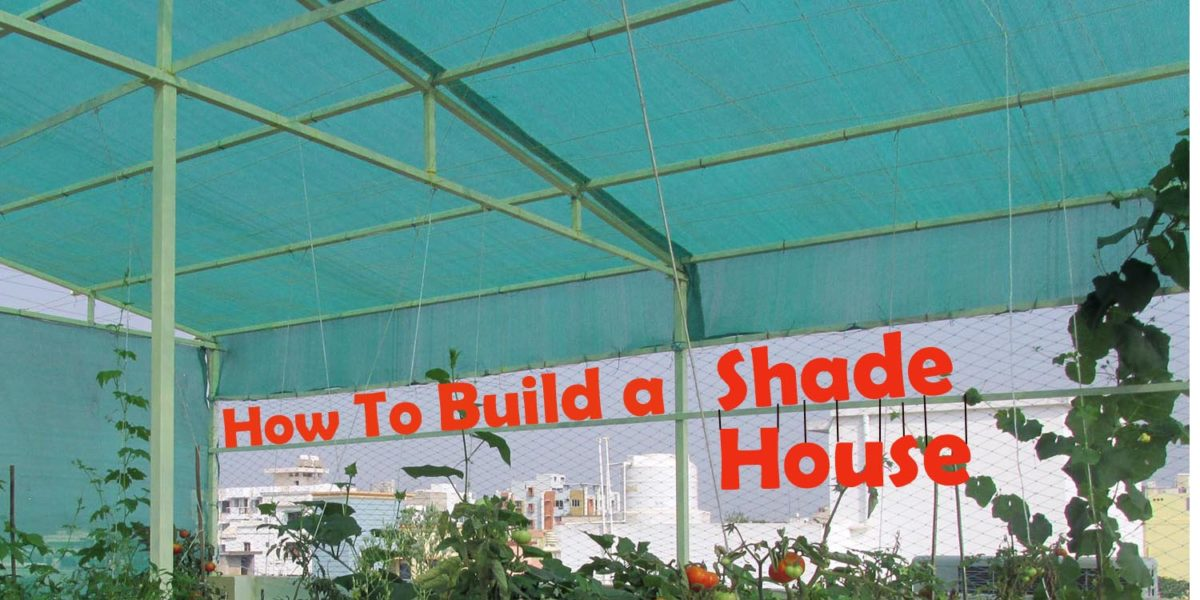 How to build a shade house