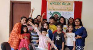 Green Ninja Group Pic